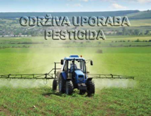 Izobrazba o održivoj uporabi pesticida