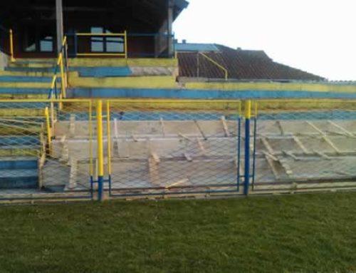 Obnova tribina na igralištu NK Darde