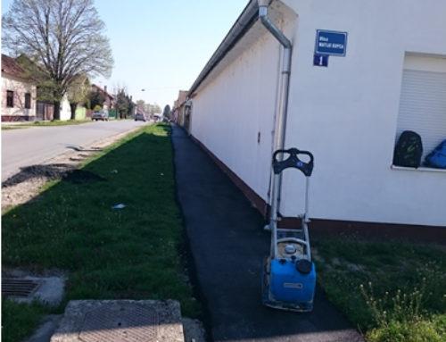 Nova staza u ulici Bana Jelačića i novi asfalt u ulici Kneza Trpimira